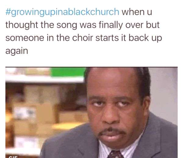 21+Best Of The Best-Life Growing Up In A Black Church-So Relatable