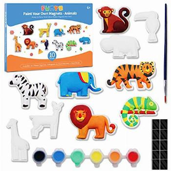 Animal Painting Kit for Kids, Funto Paint Your Own
