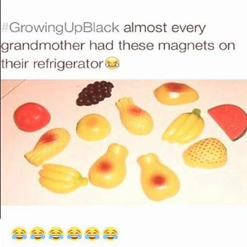 Growing Up Black, Memes, and Refrigerator: GrowingUpBlack almost every grandmother had these magnet