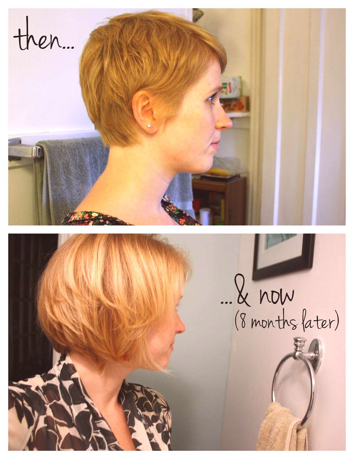 eight months to grow out a pixie, this lady knows what she's talking about when it comes to the sho