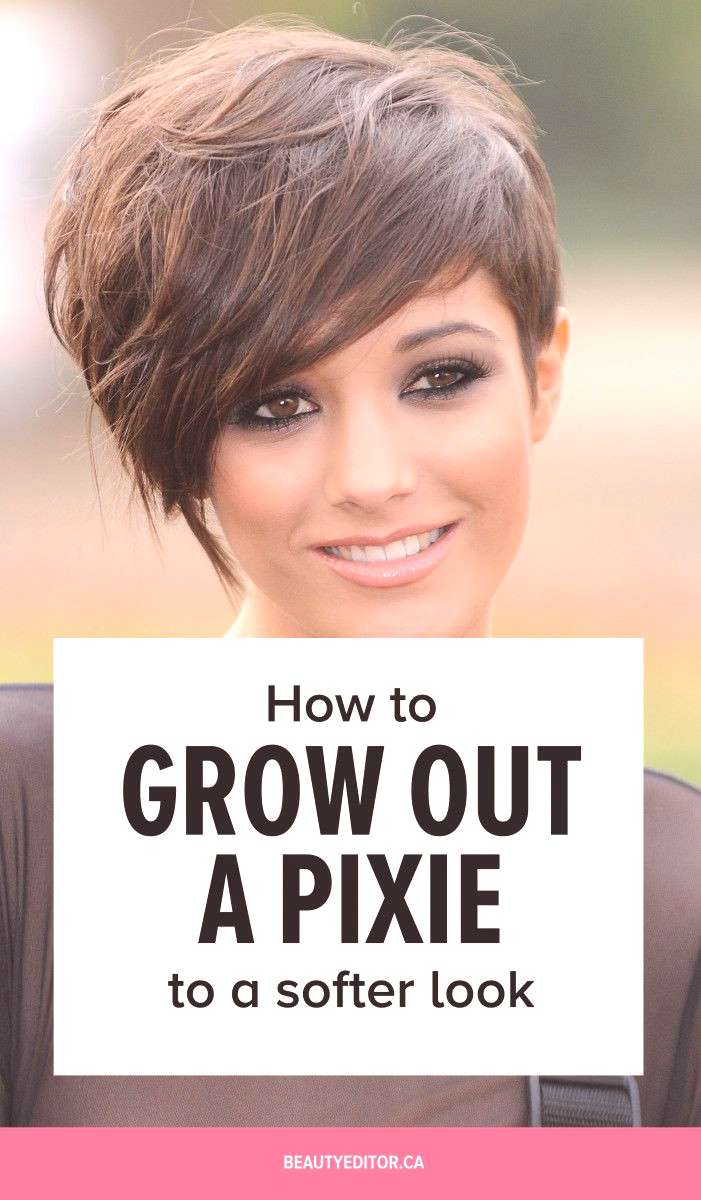 How to grow out a pixie to a softer look, according to celebrity hairstylist Bill Angst.