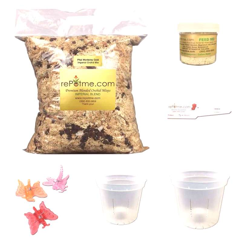 Our starter kits our an excellent choice for those new to orchids. The kit comes complete with ever