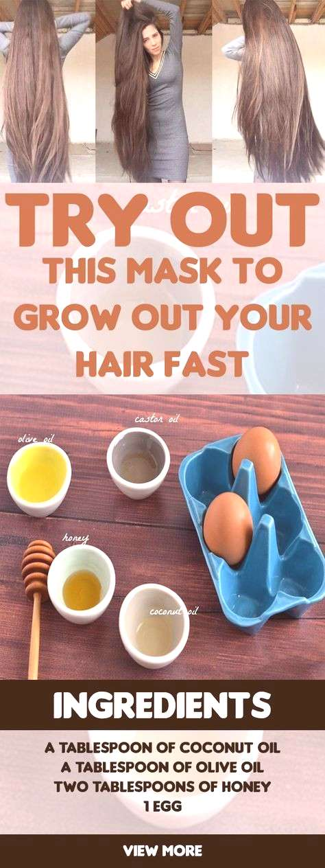 Try Out This Mask To Grow Out Your Hair Fast Try Out This Mask To Grow Out Your Hair Fast